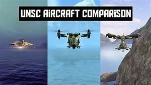 Halo 5 Guardians: UNSC Air Vehicle Comparison - YouTube
