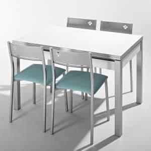 Table De Cuisine Rectangulaire : achat de tables de cuisine 4 ~ Teatrodelosmanantiales.com Idées de Décoration