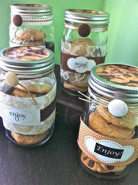 homemade  love decorated mason cookie jars hand