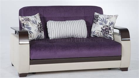 natural prestige purple sofa bed sunset woptions