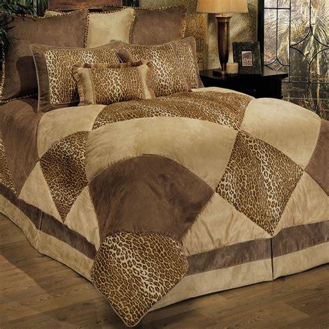 safari patch 8 pc comforter bed set