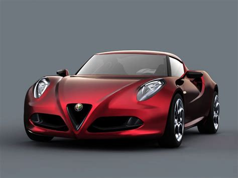 Alfa Romeo 4c Concept  Car Body Design