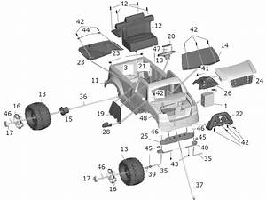 Power Wheels F150 Truck Parts