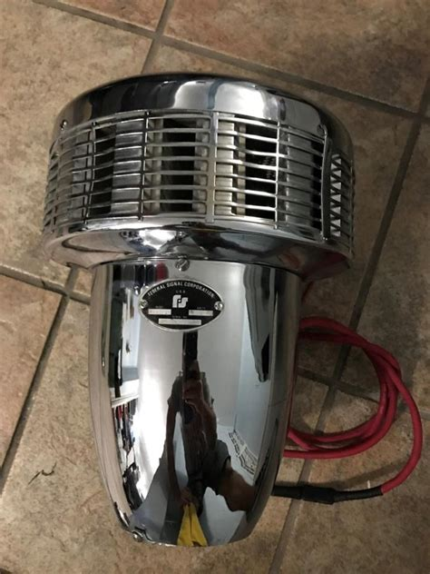 siren federal signal for sale classifieds