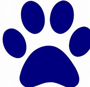 The gallery for --> Blue Bear Paw Print