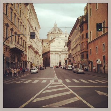Streets Of Italy An American In Rome