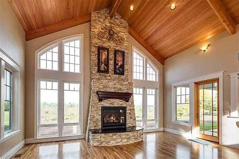 rugged house plan 72754da vaulted quot great room quot aptly