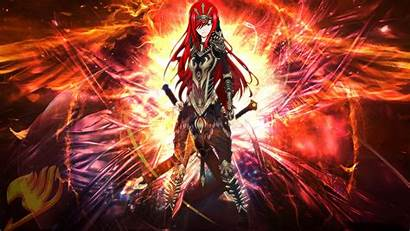 Erza Scarlet Anime Wallpapers 1140 Views Backgrounds
