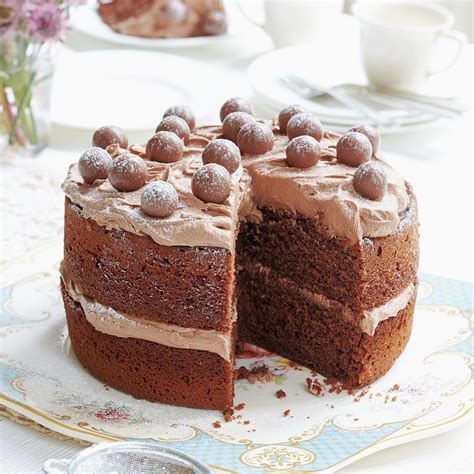 Season 1, epsiode 2, where you can see mary berry make it herself. Mary Berry: Malted Chocolate Cake | Recipe | Berries recipes, Mary berry recipe, Baking