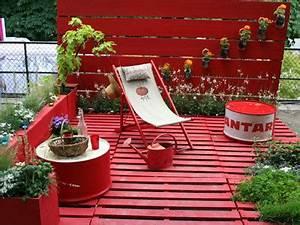 Décoration Jardin Pas Cher : terrasse jardin pas cher ~ Carolinahurricanesstore.com Idées de Décoration