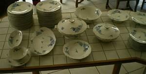 Service Vaisselle Porcelaine : estimation vase verrerie porcelaine service vaisselle porcelaine limoges et cie ~ Teatrodelosmanantiales.com Idées de Décoration