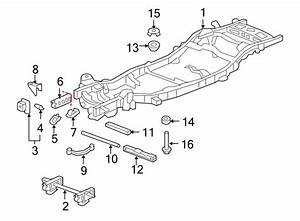 Chevrolet Tahoe Body Mount Cushion  Upper