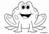 Frog Coloring Pages Outline Clipart Animals Preschool Frogs Printable Clip Cartoon Template Sheets Clipground Valentine Bestofcoloring Nuttin Pattern Craft Visit sketch template