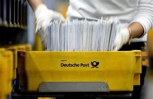 Deutsche Post Lieferzeiten Brief : 3 cent mehr f r den brief post will porto erh hen n ~ Watch28wear.com Haus und Dekorationen