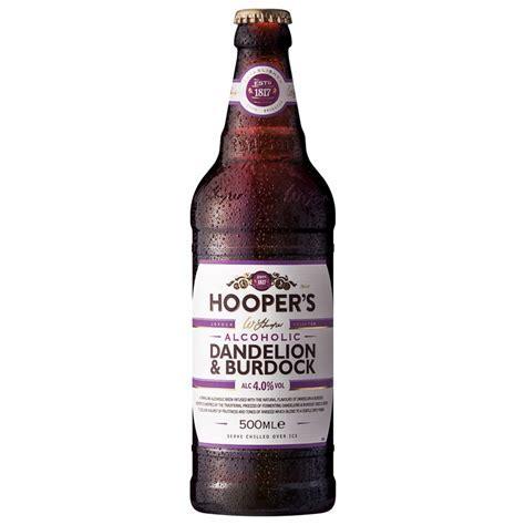 Hooper's Dandelion & Burdock 500ml   Alcohol   B&M