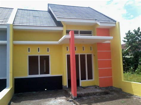 model desain rumah minimalis warna kuning