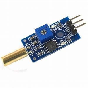 Gold Sw520d Angle Sensor Module Ball Switch Tilt For Arduino Raspberry Pi K3q8