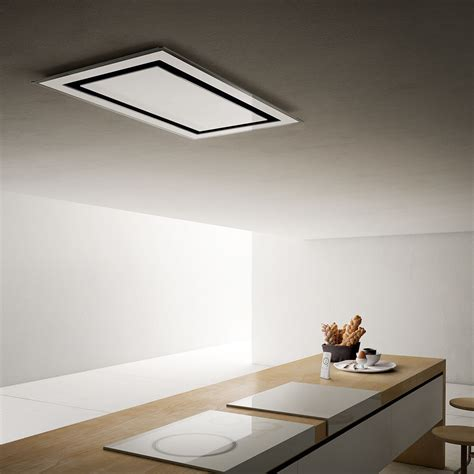 Ceiling Extractor Hood by Elica 201 Toile Ix Wh Gl Nay Sk