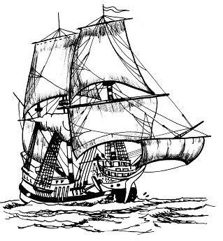 Dessin Bateau Pirate Noir Et Blanc by Pratiques Et Techniques De La Plaisance