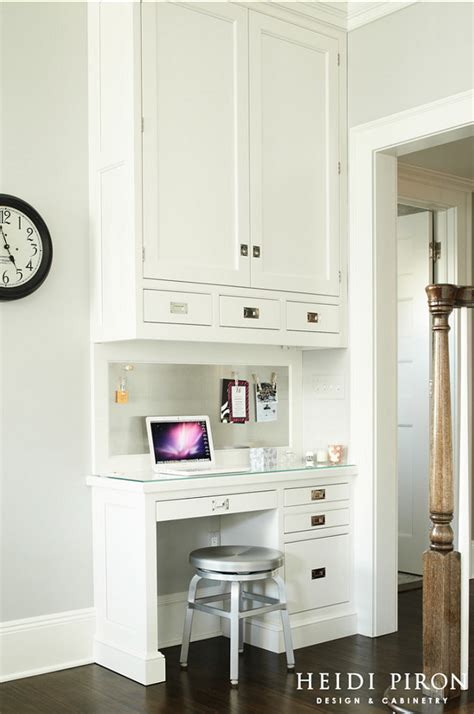 small kitchen desk ideas transitional white kitchen home bunch interior design ideas