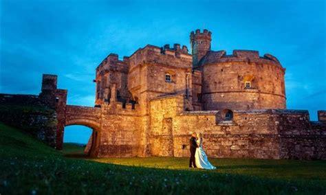 pendennis castle wedding venue  cornwall