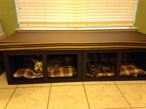 ana white dog bed window seat diy projects dog bed
