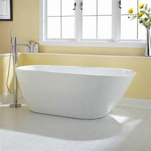 71quot Gaston Acrylic Freestanding Tub Bathroom