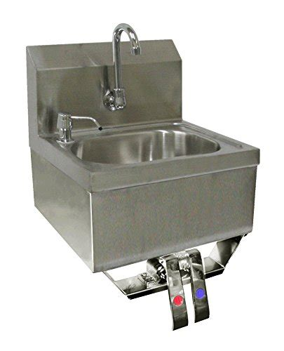 ace stainless steel sinks ace stainless steel wall mount hand sink 16 quot x 15 quot with