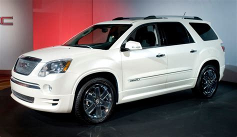 gmc acadia denali   hell   spend