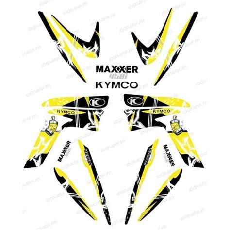kit deco kymco kit deco skull kymco 450 maxxer