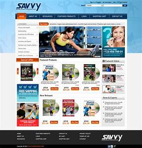 Fitness Education E-commerce Website Development - Digital ...