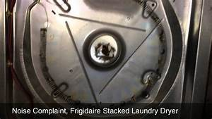 Frigidaire Stacked Laundry With A Noisy Dryer