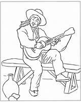 Coloring Spain Spanish Guitar Adult Player Kolorowanki Gitara Manet Dzieci Dla Knuckles Adults Number Colorir Designlooter Sheet Popular Comment Library sketch template