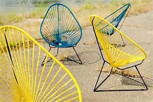 Fauteuil Acapulco Jaune : fauteuil acapulco jaune ~ Teatrodelosmanantiales.com Idées de Décoration