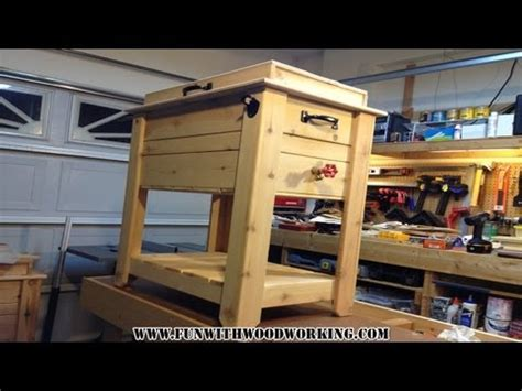 cedar ice chest plans outdoor pool table diy