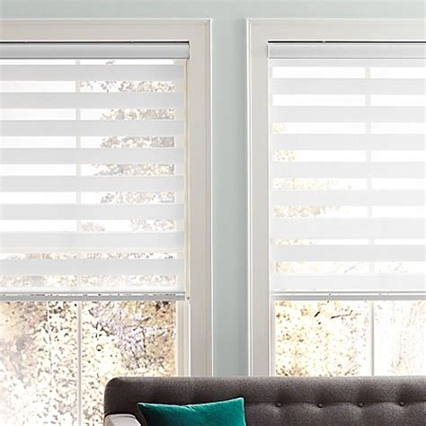 real simple blinds real simple 174 sheer layered 72 inch length shade www