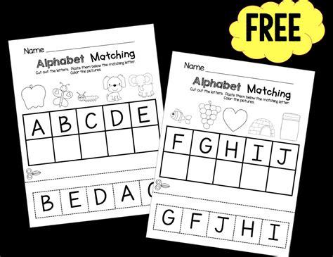 preschool keeping  kiddo busy  images alphabet
