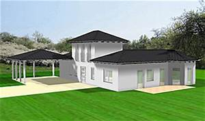Atrium Bungalow Grundrisse : atrium bungalow 15 130 16 variante 2 grundriss mit erker und turm einfamilienhaus neubau ~ Bigdaddyawards.com Haus und Dekorationen