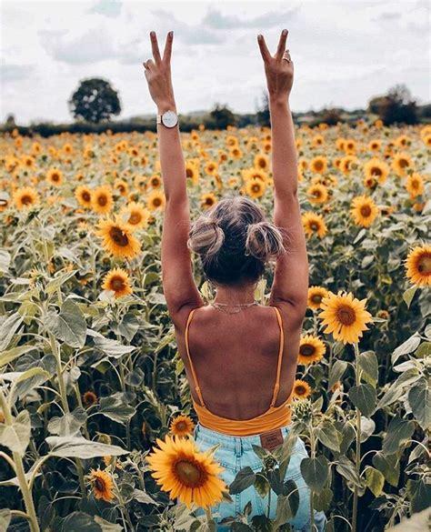 Sunflower Field Photoshoot Ideas Flower Photoshoot