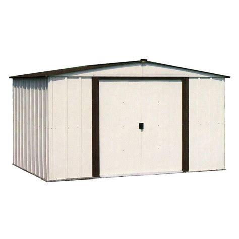 Arrow Newburgh 8x6 Storage Shed by Arrow Newburgh 8 Ft X 6 Ft Metal Storage Building Nw86