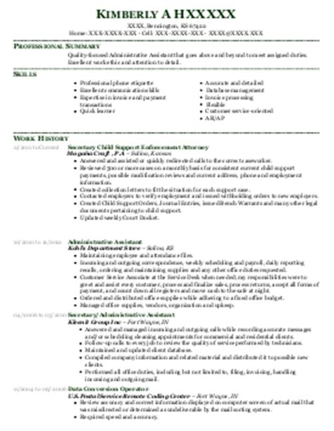 Workers Compensation Claims Assistant Resume Sle by Workers Compensation Claims Assistant Resume Exle