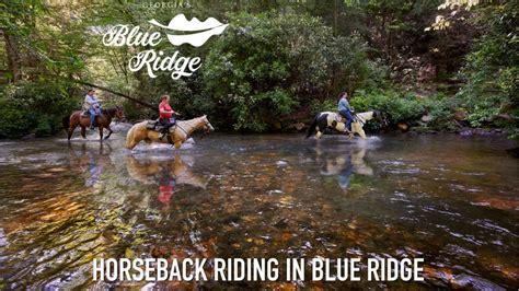 riding horseback ridge georgia blueridgemountains mountains county trail