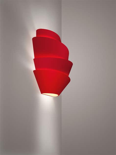 applique le soleil  foscarini rosso   design