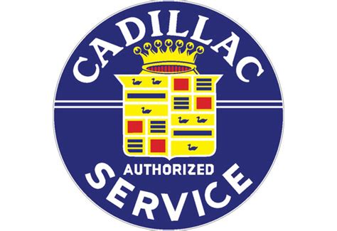 cadillac vintage sign  signpast  shipping price
