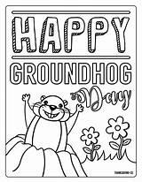 Groundhog Coloring Pages Math Worksheets Grade Halloween Cool Sheets Printable Sheet Phil Punxsutawney Homework 6th Adorable Printables Cbse Lkg Valentine sketch template