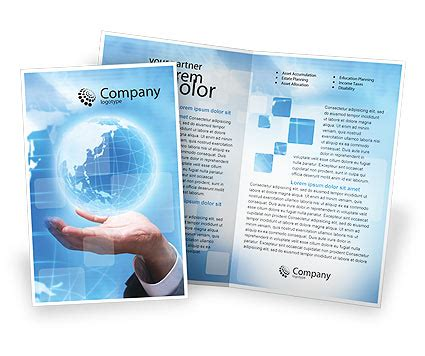 googleial brochure templates 0 html crystal globe brochure template design and layout