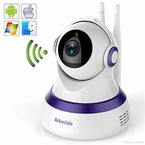 Camera De Surveillance Maison : acheter cam ra de surveillance sans fil arkmiido 720p hd ~ Dode.kayakingforconservation.com Idées de Décoration
