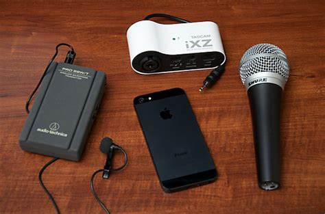external mic for iphone external microphones for iphone 5s 5 4s and ipod