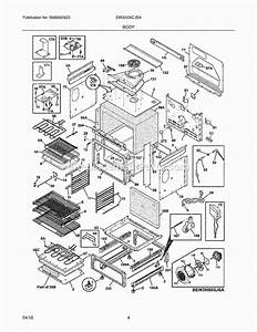 Electrolux Ew30is6cjsa Parts List And Diagram