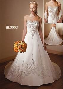embroidered wedding gowns With embroidered wedding dress